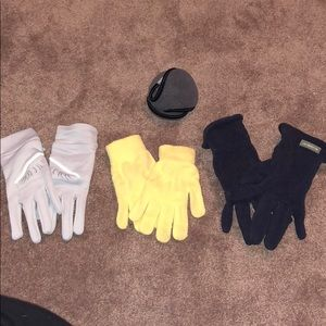 Cold Weather Gear Gloves & Earmuffs